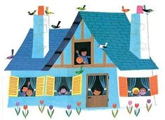 great illustration by Alain Grée