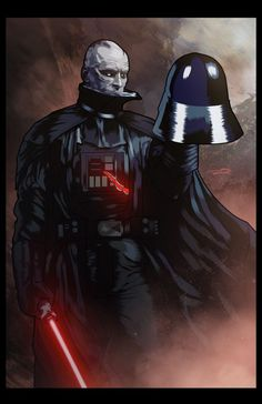 Darth Vader, by Marcus Hill (MarcRene) Anakin Vader, Darth Vader, Anakin Skywalker, Aliens, Estilo Geek, Vader Star Wars, Star Wars Wallpaper, Dark Lord, Love Stars