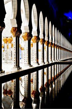 Shaikh Zayed mosque in Abu Dhabi