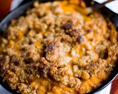 Del Frisco's Double Eagle Steakhouse's Bourbon Sweet Potato Casserole | The Daily Meal