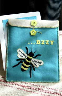 Bee & Butterfly--printed pattern – Black Mountain Needleworks