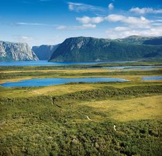 Western Brook Pond Trail by Newfoundland and Labrador Tourism, via Flickr