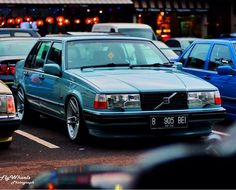 Berly Astre's 960GL at Jakarta Meet up. (I always thought those headlights were cool).