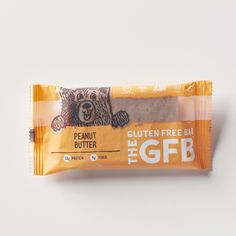 The Gluten Free Bar:  Peanut Butter  Simple, non-GMO ingredients: virginia peanuts, organic brown rice syrup, organic agave nectar, complete protein blend (brown rice protein, pea protein), organic dates, organic crisped brown rice, golden flaxseed, vanilla extract, sea salt. contains peanuts.
