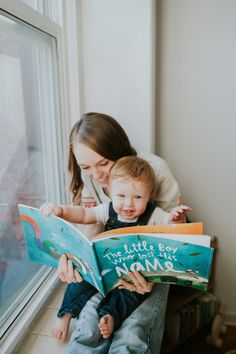 Household Mag. - Mom & baby storytime at home with @lostmyname