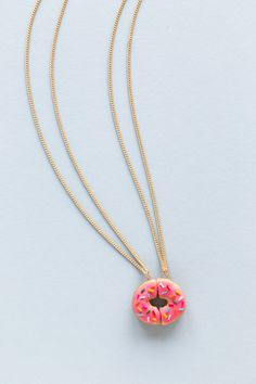 DIY Donut Friendship Necklaces Tutorial