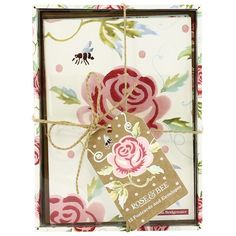 Emma Bridgewater Rose & Bee Postcards