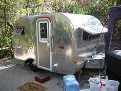 VINTAGE 1965 Serro Scotty camper RARE travel trailer,teardrop restored !!!!!!!!!