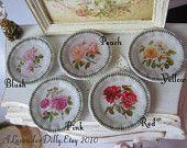 Portmeirion Botanical Plate for Dollhouse