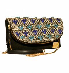 ANIHA FOLDOVER CLUTCH TURQUOISE