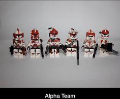 Custom Clone Squadron (Hand painted)