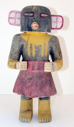 x x x ~ `Antique Early Black Bird Kachina Native American Artifacts, Native American Indians, Indian Art Gallery, Southwestern Art, American Indian Art, Arte Popular, Aboriginal Art, Native Art, Anthropology
