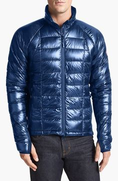 Canada Goose kensington parka outlet authentic - Men's Canada Goose 'Lodge' Slim Fit Packable Windproof 750 Down ...