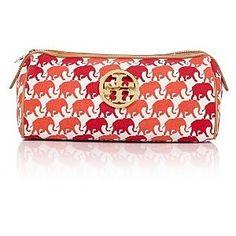 Tory and elephants- perfect make- up bag!