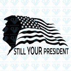Trump Is My President, Diy Tops, Confederate Flag, Shirt Template, Trump Shirts, Vinyl Shirts, Silhouette Cameo Projects, Silhouette Files, Cricut Vinyl