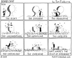 point of difference | Tom Fishburne: Marketoonist