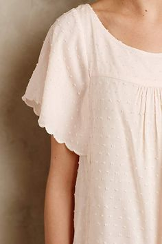 Keme Dotted Tee - anthropologie.com #anthrofave #anthropologie