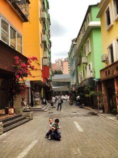 Dafen oil painting village, Shenzhen