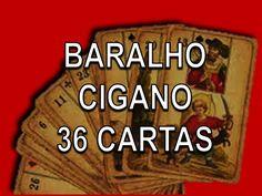 BARALHO CIGANO - 36 Cartas - AULA 01 - Texto e narração.                                                                                                                                                      Mais