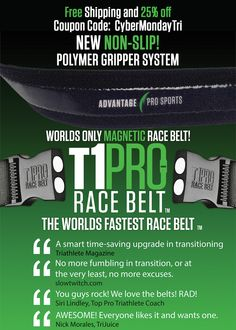 15 best t1 pro race number belts images on pinterest belts mens cyber monday deals for the triathlete on you christmas list free shipping and 25 fandeluxe Images