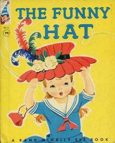"""The Funny Hat""  Little Golden Book. Recycled Book Journal. Just $14. All Golden Books include the entire text included with the finished journal. Also? Bonus!!! I will, upon request, make a video of me reading ANY golden book to you and post said video to YouTube. Just make a note in checkout page. Here's a link to the Golden Book section of our website: http://bookjournals.com/journals/little-golden-books Or, you know, just click on this image. Love, Jacob"