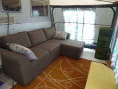 Touring Caravan & Awning For Sale On Camping Benisol Campsite In Benidorm, Costa Blanca, Spain. £5,500 | Benidorm Caravan Sales Touring Caravans For Sale, Bed Settee, Caravan Awnings, Mobile Homes For Sale, Beautiful Pools, New Beds, Double Beds, Sale On, Campsite