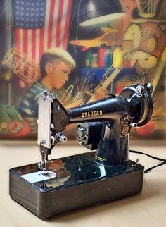 spartan sewing machine history