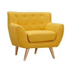Olson Armchair in Yellow