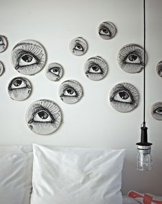 Eyes on wall @April Cochran-Smith and May #theExchange #hotel