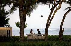 Take pleasure in an intimate by the beach. Book your Bali Accomodation with us at www.theroyalsantrian.com Luxury Beach Villa, Tanjung Benoa Bali,Indonesia