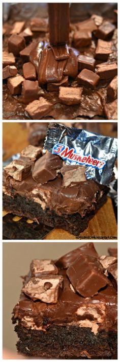 3 Musketeers Fudge Brownies