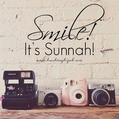 Islamic Daily: Smile! It's Sunnah! | Hashtag Hijab © www.hashtaghijab.com
