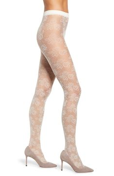 Rose Drama Tights | #DramaTights | #Tights | Leggings Fashion, Leggings Style, Vintage Roses, Tights, Fashion Dresses, Drama, Stockings, Ivory, Nordstrom
