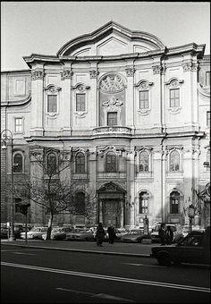 Borromini - Oratorio Dei Filippini - #Baroque concave facade Rome - 1637-1650 construction