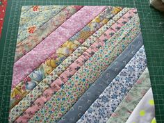 Sew Many Quilts - Too Little Time: QAYG Blocks Tutorial -Quilt as you go