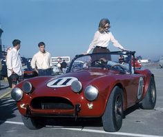 Shelby Cobra, 1963 Sebring 12 Hours, The Holman Moody Shelby Cobra did some promotional work prior to the race.