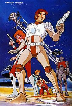 animé : Captain Future / Toei Animation / 1978 / http://elros.tistory.com/291#.WUmGGelpyM8