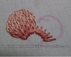 Article on thread painting in embroidery