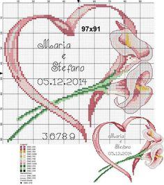 Bordados de corazones en punto de cruz06