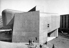 Claude Parent –Church of Sainte-Bernadette du Banlay, Nevers, 1963–1966
