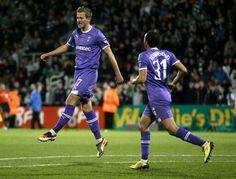 Harry Kane scores his first Spurs goal v Shamrock Rovers 2011