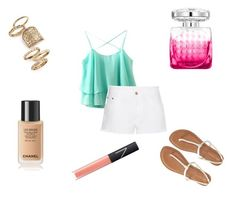 """""""Embracing Summer"""" by mahrukhmurad on Polyvore featuring STELLA McCARTNEY, Aéropostale, Topshop, NARS Cosmetics and Jimmy Choo"""