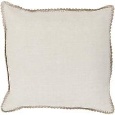 Art of Knot Velletri 18 inch x 18 inch Pillow Cover, Beige Beige Pillows, Modern Throw Pillows, Beige Bedding, Elsa, Armelle, Down Pillows, Throw Pillow Covers, Decorative Throw Pillows, Decorative Accents