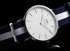 Daniel Wellington Glasgow | 20 Great Looking Watches Under $200 on Dappered.com