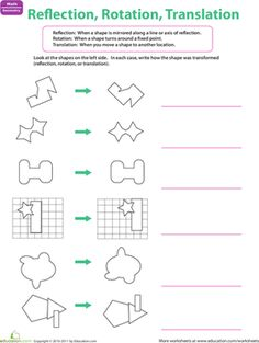 math worksheet : 1000 images about teaching on pinterest  geometry worksheets  : Maths Rotation Worksheets