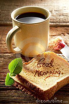 Morning Coffee  by Hong Chan, via Dreamstime