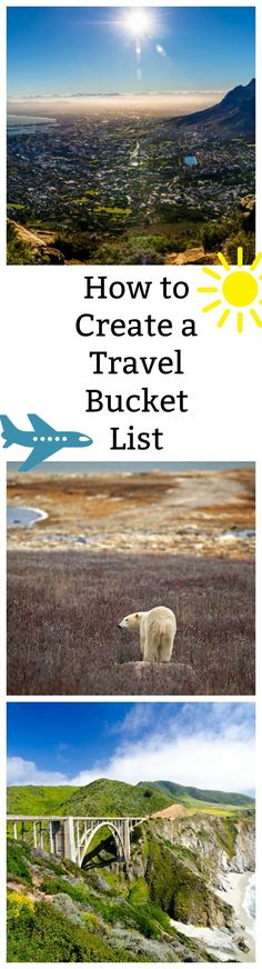 How to Create a Travel Bucket List is just what you need to make your next vacation even more fun!  Travel can be a perfect way to learn and do new things you'll love!