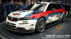 Lancia Delta HF integrate WRC concept