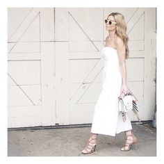 Strappy sandals are the perfect shoe staple this summer. Wear them to graduation parties, weddings and backyard BBQ's.