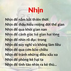 Nhịn để lòng an vui....#quotes Famous Quotes, Best Quotes, Buddha Quotes Inspirational, Quotes To Live By, Life Quotes, Wall Workout, Love You Gif, Good Notes, Secret To Success